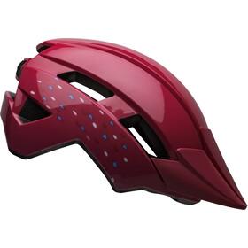 Bell Sidetrack II Helm Peuters, pink unicorn